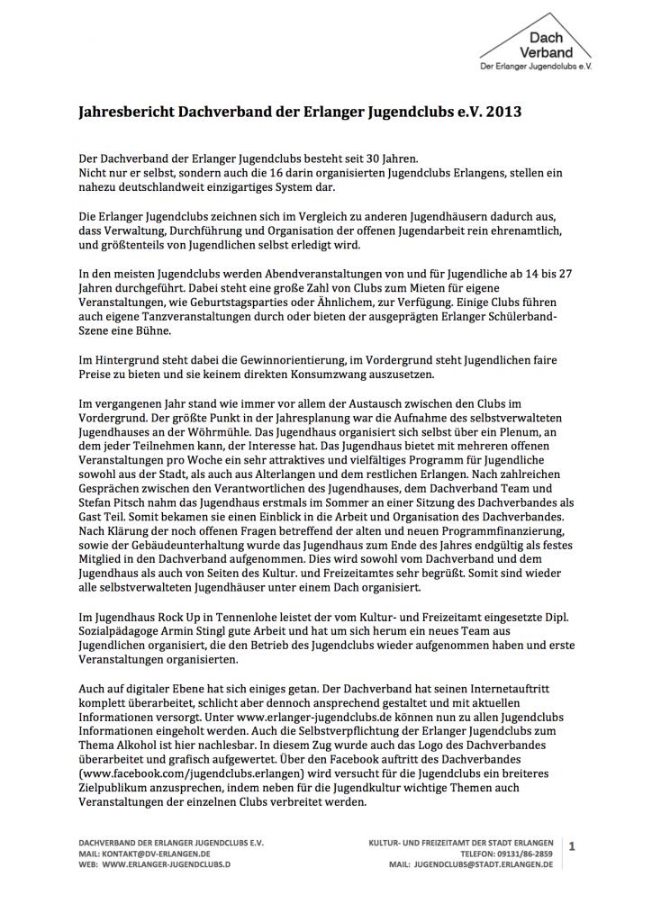 Jahresbericht DV 2013_1